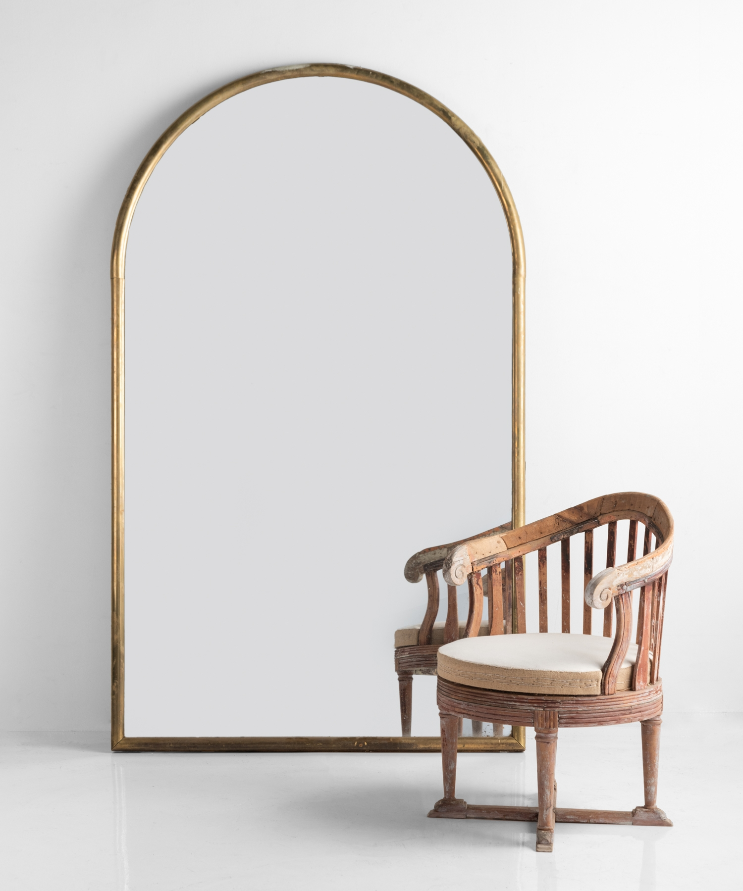 Large Arched Mirror Obsolete